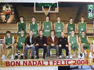 Equipo Senior EBA N 14 Borja Benito