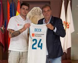 Gabriel Deck (Fuente: realmadrid.com)
