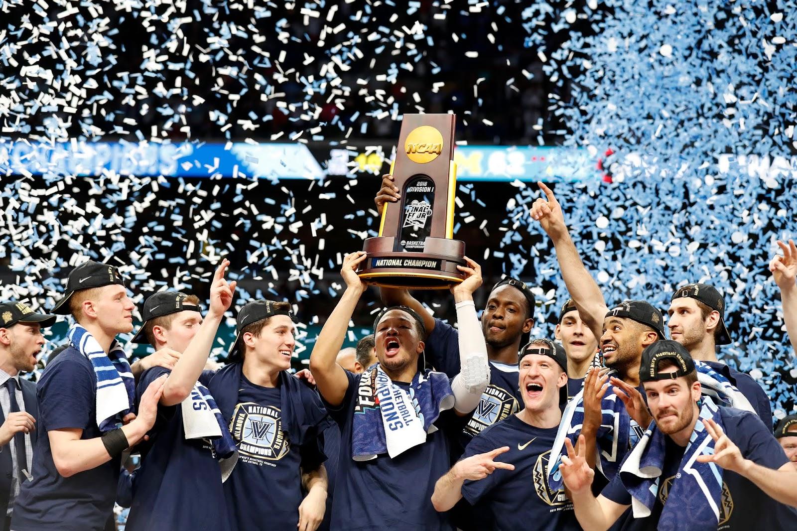 1ff692e08db3 Villanova Wildcats actual campeón de la NCAA ...